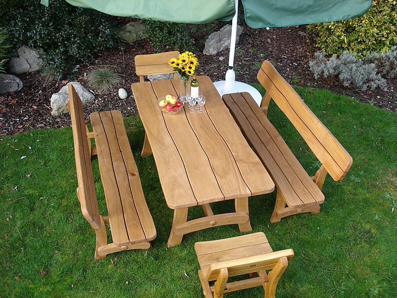 Garden Furniture Handmade landscape gardener north down, northern ireland, brick paving